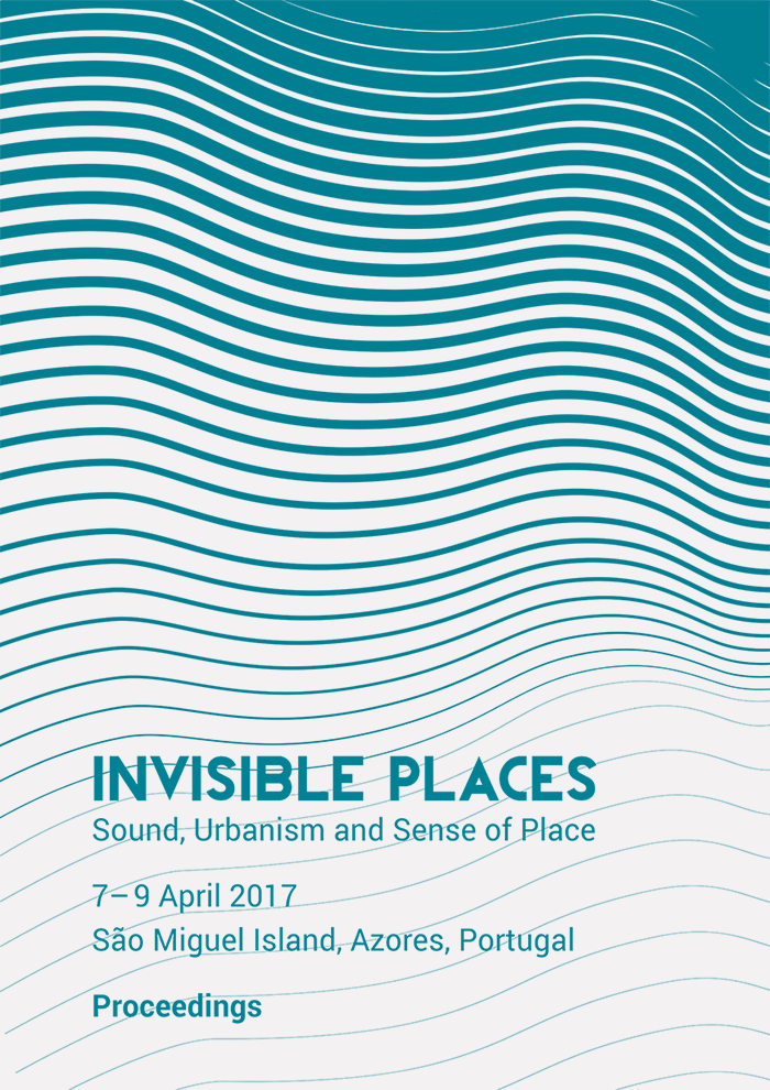 Cover of the Invisible Places 2017 Proceedings